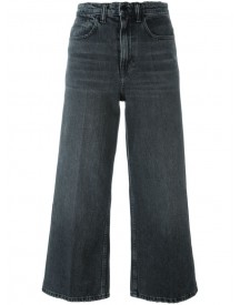 Alexander Wang - Cropped Wide Leg Jeans - Women - Cotton/polyester - 25 afbeelding