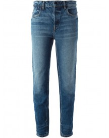 Alexander Wang - Straight Leg Jeans - Women - Cotton - 26 afbeelding