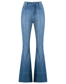 Amapô - High Waist Flared Jeans - Women - Cotton/polyester - 34 afbeelding