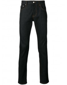 Ami Alexandre Mattiussi - Slim Fit 5 Pocket Jeans - Men - Cotton/spandex/elastane - 35 afbeelding