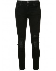 Amiri - Ripped Skinny Jeans - Women - Cotton/spandex/elastane - 29 afbeelding