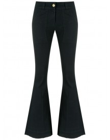 Andrea Bogosian - Flared Denim Pants - Women - Cotton/spandex/elastane - M afbeelding