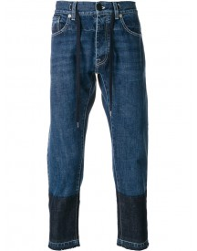 Andrea Pompilio - Heart Embroidery Jeans - Men - Cotton - 46 afbeelding