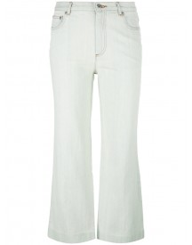A.p.c. - Flared Cropped Jeans - Women - Cotton - 28 afbeelding