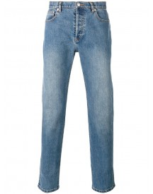 A.p.c. - Washed Effect Straight Leg Jeans - Men - Cotton/polyurethane - 31 afbeelding