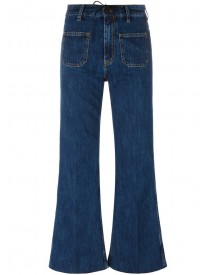 Aries - Flared Jeans - Women - Cotton - 29 afbeelding