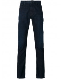 Armani Jeans - Folded Hem Slim-fit Jeans - Men - Cotton/spandex/elastane - 31 afbeelding