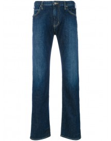 Armani Jeans - Regular Jeans - Men - Cotton/spandex/elastane - 32 afbeelding