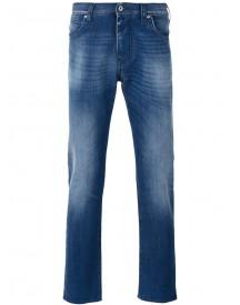 Armani Jeans - Slim-fit Jeans - Men - Cotton/spandex/elastane - 34 afbeelding