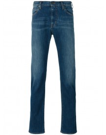 Armani Jeans - Slim-fit Jeans - Men - Cotton/spandex/elastane - 36/32 afbeelding
