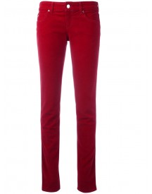 Armani Jeans - Slim Fit Straight Jeans - Women - Cotton/spandex/elastane - 30 afbeelding