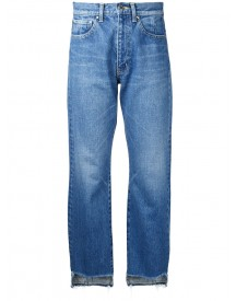Astraet - High Low Jeans - Women - Cotton - 25 afbeelding