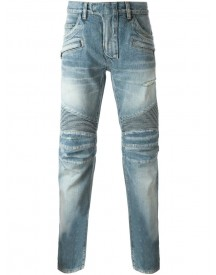 Balmain - Biker Jeans - Men - Cotton - 34 afbeelding