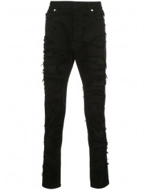 Balmain - Destroyed Jeans - Men - Cotton/polyurethane - 33 afbeelding