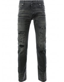 Balmain - Distressed Skinny Jeans - Men - Cotton/polyurethane - 32 afbeelding