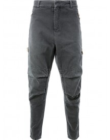 Balmain - Loose-fit Biker Jeans - Men - Cotton - 50 afbeelding