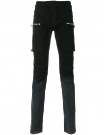 Balmain - Shaded Cargo Jeans - Men - Cotton/spandex/elastane - 29 afbeelding