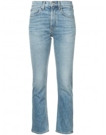 Brock Collection - Medium Vintage Denim Jeans - Women - Cotton/polyurethane - 6 afbeelding