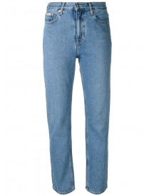 Ck Jeans - Fitted Straight Leg Jeans - Women - Cotton - 25 afbeelding