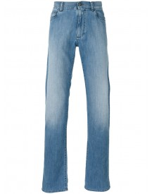 Canali - Regular Jeans - Men - Cotton/elastodiene/polyester - 48 afbeelding