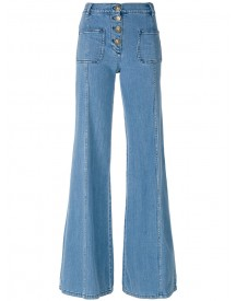 Chloé - Flared Jeans - Women - Cotton/polyester - 38 afbeelding