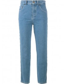 Chloé - Scalloped Jeans - Women - Cotton/polyester - 34 afbeelding