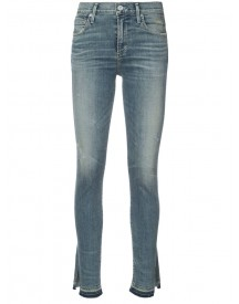 Citizens Of Humanity - Slit Hem Skinny Jeans - Women - Cotton/polyester/polyurethane - 31 afbeelding