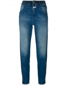Closed - Brocken Stitches Cropped Jeans - Women - Cotton/spandex/elastane - 30 afbeelding