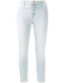 Closed - Cropped Skinny Jeans - Women - Cotton/polyester/spandex/elastane - 28 afbeelding