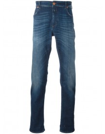 Closed - Folded Hem Tapered Jeans - Men - Cotton/polyester/spandex/elastane - 31 afbeelding