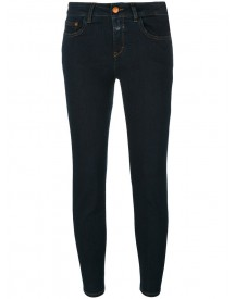 Closed - Skinny Cropped Jeans - Women - Cotton/polyester/spandex/elastane - 25 afbeelding
