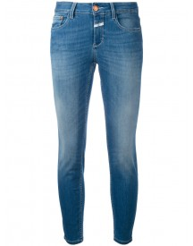 Closed - Skinny Cropped Jeans - Women - Cotton/polyester/spandex/elastane - 29 afbeelding