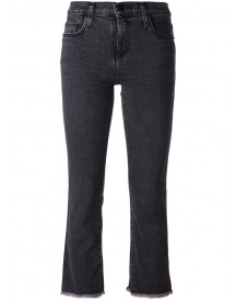 Current/elliott - Cropped Jeans - Women - Cotton/polyester - 25 afbeelding