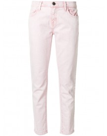 Current/elliott - Cropped Straight-leg Jeans - Women - Cotton/spandex/elastane - 31 afbeelding