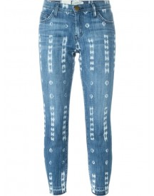 Current/elliott - Distressed Jeans - Women - Cotton/spandex/elastane - 25 afbeelding