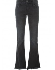 Current/elliott - Flared Jeans - Women - Cotton/spandex/elastane - 24 afbeelding