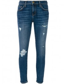 Current/elliott - Ripped Skinny Jeans - Women - Cotton/elastodiene/polyester - 26 afbeelding