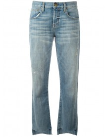 Current/elliott - Straight-leg Jeans - Women - Cotton/polyester/spandex/elastane - 27 afbeelding