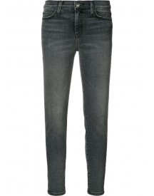 Current/elliott - Super Skinny Cropped Jeans - Women - Cotton/spandex/elastane - 29 afbeelding