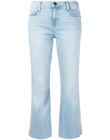 Current/elliott - The Kick Cropped Jeans - Women - Cotton/polyester/spandex/elastane - 25 afbeelding