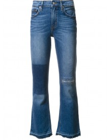 Derek Lam 10 Crosby - Gia Mid-rise Cropped Flare Jeans - Women - Cotton - 27 afbeelding