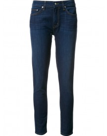 Derek Lam 10 Crosby - Devi Mid-rise Authentic Skinny Jeans - Women - Cotton/polyester/spandex/elastane - 25 afbeelding