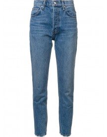 Derek Lam 10 Crosby - Lou High-rise Classic Straight Leg Jeans - Women - Cotton - 29 afbeelding