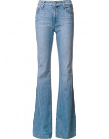 Derek Lam 10 Crosby - Noha Mid-rise Sexy Flare Jeans - Women - Cotton/spandex/elastane - 26 afbeelding