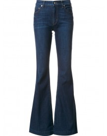 Derek Lam 10 Crosby - Noha Mid-rise Sexy Flare Jeans - Women - Cotton/polyester/spandex/elastane - 28 afbeelding