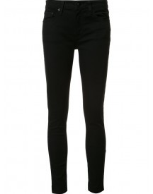 Derek Lam 10 Crosby - Devi Mid-rise Authentic Skinny Jeans - Women - Cotton/polyester/spandex/elastane - 31 afbeelding