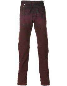 Diesel Black Gold - Splatter Effect Jeans - Men - Cotton/spandex/elastane/lyocell - 31 afbeelding