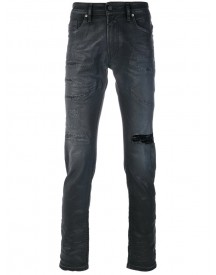 Diesel - Distressed Slim Fit Jeans - Men - Cotton/spandex/elastane - 36 afbeelding