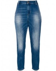 Diesel - Tapered Jeans - Women - Cotton/spandex/elastane/lyocell - 25/30 afbeelding