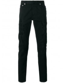 Dior Homme - Destroyed Slim-fit Jeans - Men - Cotton/spandex/elastane - 31 afbeelding